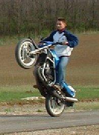 Wheelie kid